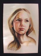 Picturi cu potrete/nuduri Inocenta copilarie