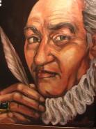Picturi cu potrete/nuduri Portret intitulat contele.!!