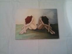 Picturi cu potrete/nuduri Gemenele