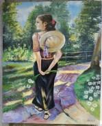 Picturi cu potrete/nuduri Just a walk