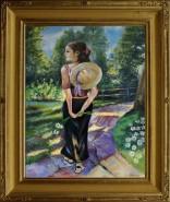 Picturi cu potrete/nuduri Promenada
