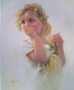 Picturi cu potrete/nuduri Fetita