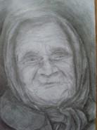 Picturi cu potrete/nuduri Bunica