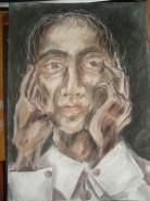 Picturi cu potrete/nuduri Meditatie