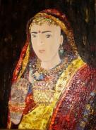 Picturi cu potrete/nuduri Printesa indiana