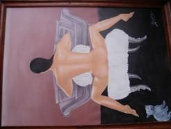 Picturi cu potrete/nuduri Ema