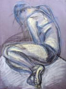 Picturi cu potrete/nuduri Crochiu