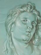 Picturi cu potrete/nuduri Portret inger - copie durer