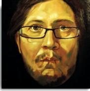 Picturi cu potrete/nuduri Autoportret 3.