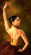 Picturi cu potrete/nuduri Balerina 12