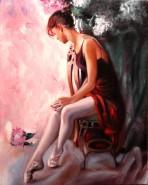 Picturi cu potrete/nuduri Balerina 3