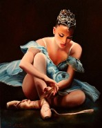 Picturi cu potrete/nuduri Balerina 6
