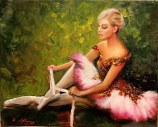 Picturi cu potrete/nuduri Balerina ana