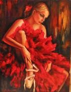 Picturi cu potrete/nuduri Balerina ema