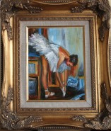 Picturi cu potrete/nuduri Balerina mara