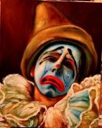 Picturi cu potrete/nuduri Clown
