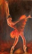 Picturi cu potrete/nuduri Pasarea de foc