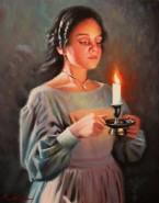 Picturi cu potrete/nuduri Portret fata
