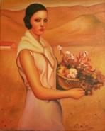 Picturi cu potrete/nuduri Spanish girl