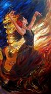 Picturi cu potrete/nuduri Flamenco
