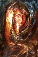 Picturi cu potrete/nuduri Ganduri