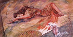 Picturi cu potrete/nuduri Tabloul