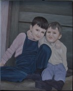 Picturi cu potrete/nuduri Copilarie