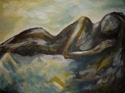 Picturi cu potrete/nuduri Nud pamant