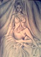 Picturi cu potrete/nuduri Pasiunea