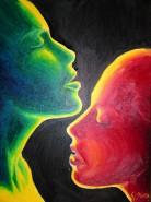 Picturi cu potrete/nuduri Dragoste pasiune si dorinta