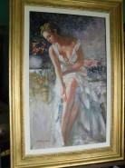 Picturi cu potrete/nuduri Fata din vis