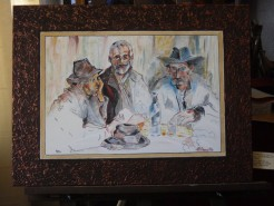 Picturi cu potrete/nuduri Tarani la birt