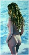 Picturi cu potrete/nuduri Pe plaja