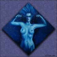 Picturi cu potrete/nuduri Regina noptii