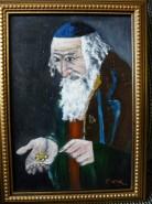 Picturi cu potrete/nuduri Batran evreu