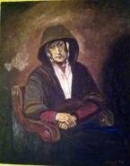 Picturi cu potrete/nuduri Portret de batrana