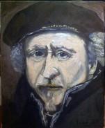 Picturi cu potrete/nuduri Rembrandt