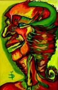 Picturi cu potrete/nuduri Bufonul