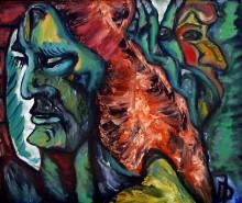 Picturi cu potrete/nuduri Intre ziduri