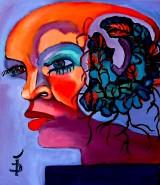 Picturi cu potrete/nuduri Ramurile inflorite ale creierului