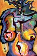 Picturi cu potrete/nuduri Tors de femeie