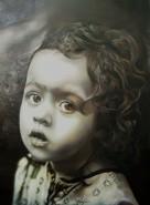 Picturi cu potrete/nuduri Portret de fetita