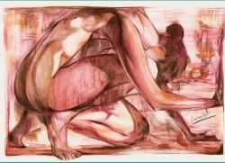 Picturi cu potrete/nuduri Fresca