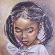 Picturi cu potrete/nuduri Copila