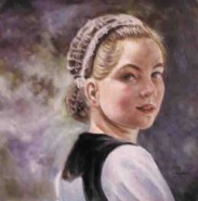 Picturi cu potrete/nuduri Tanara bretona