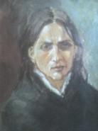 Picturi cu potrete/nuduri Femeie in doliu
