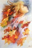 Picturi cu potrete/nuduri Toamna