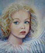 Picturi cu potrete/nuduri Angel
