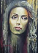 Picturi cu potrete/nuduri Contemplation