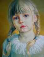 Picturi cu potrete/nuduri Copil 1